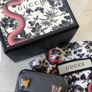 Gucci butter fly earrings